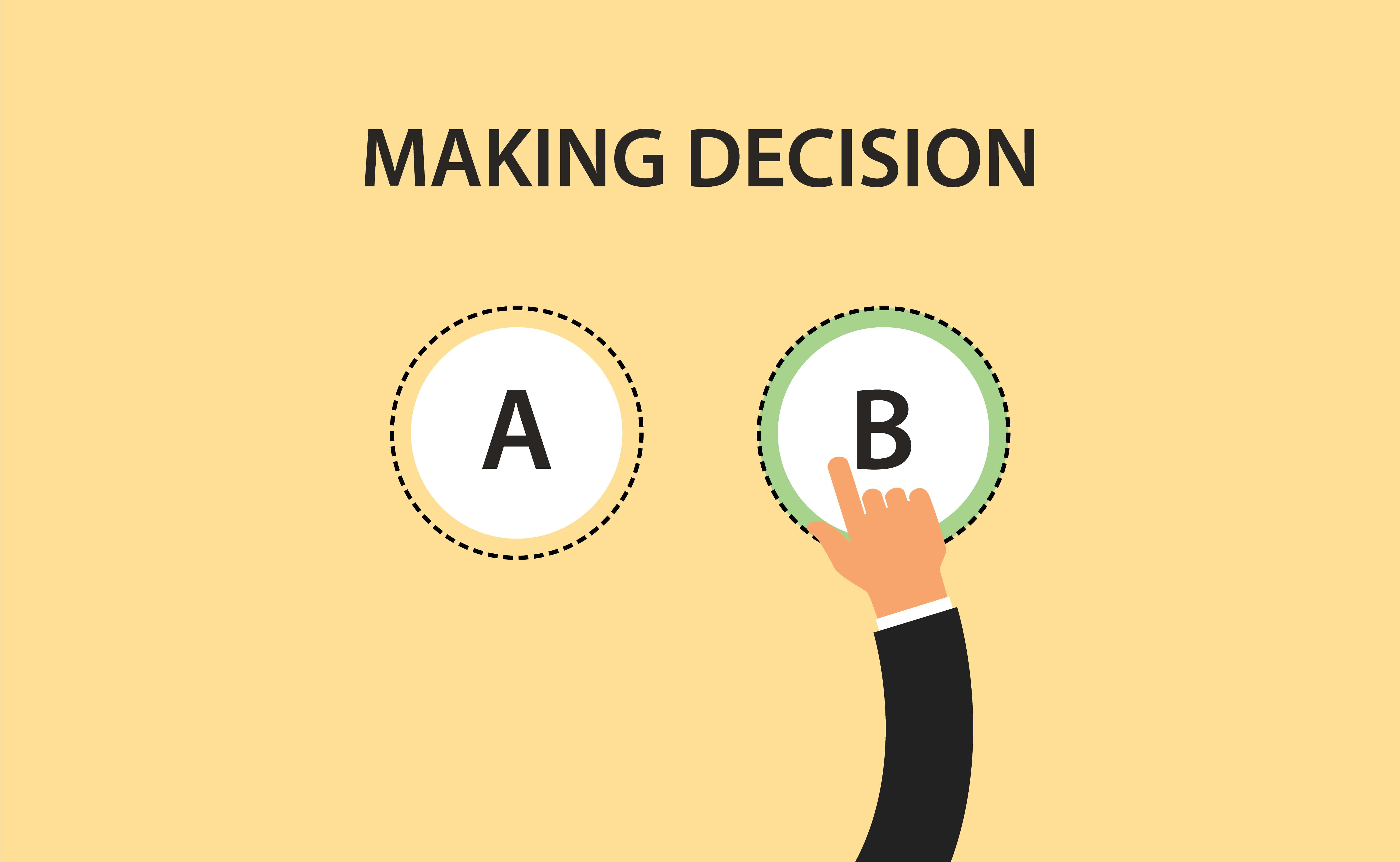 Making tool decision