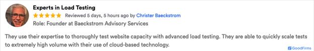 Goodfirm Review Christer Baeckstrom